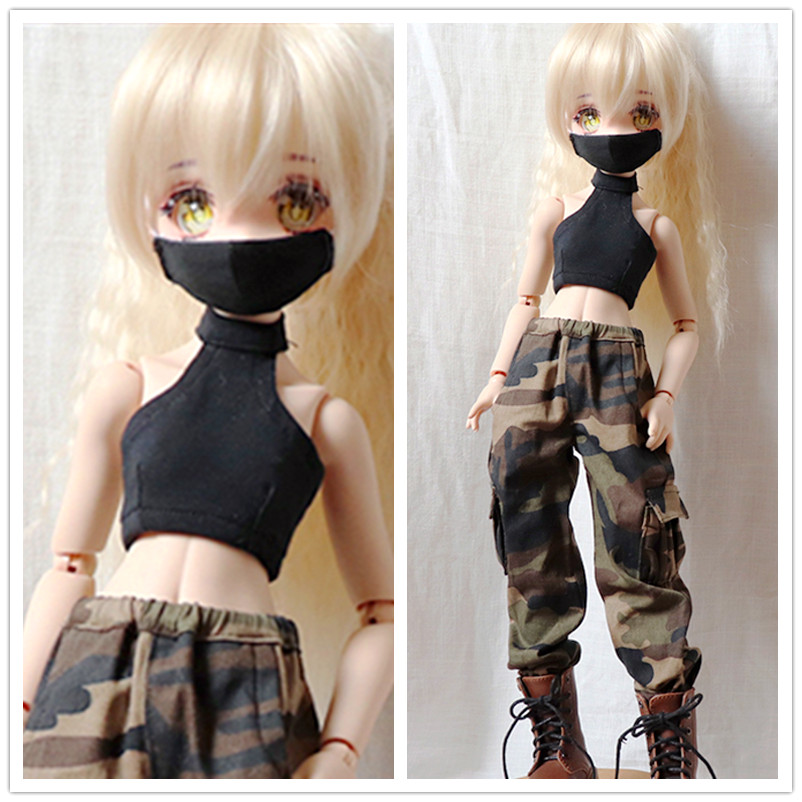 New 1//3 BJD SD UNCLE Doll Clothes Black Elastic Leather Pants//Leggings//Outfit