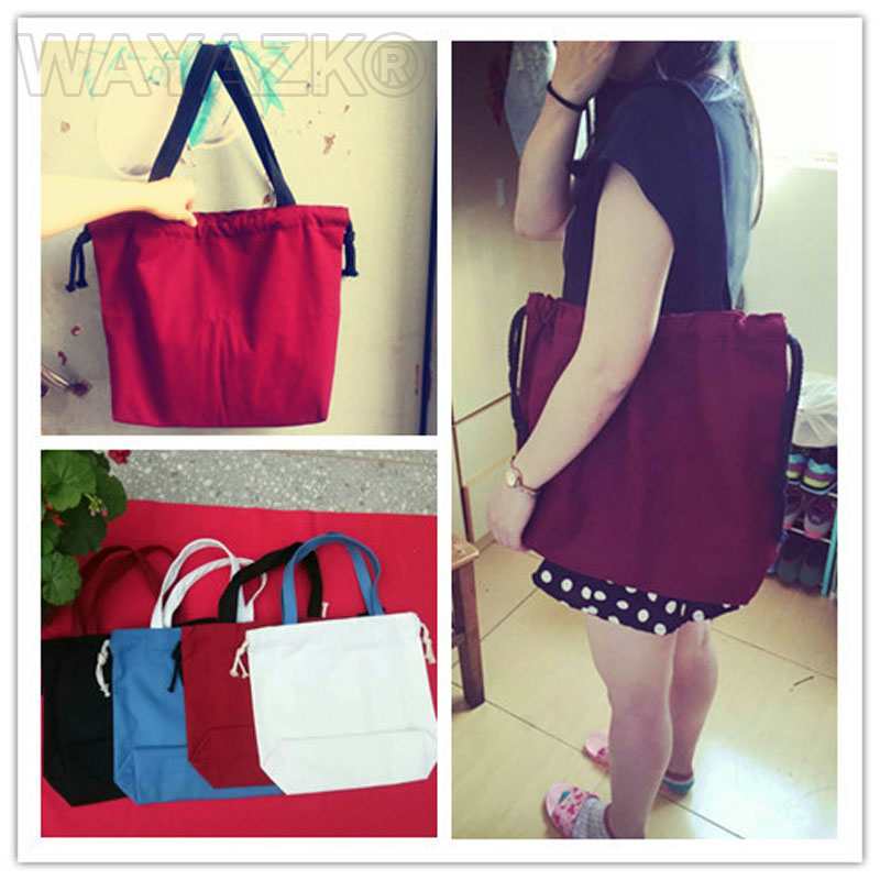 1Pcs/Lot Canvas Tote Bag