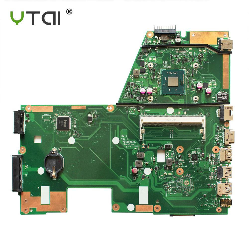 YTAI Original For ASUS D550MA F551MA X551 X551M X551MA REV 2.0 N2840 laptop notebook motherboard DDR3 SR1YJ ytai original for asus ux32a ux32v ux32vd rev 2 4 i5 3317u laptop notebook motherboard hm76 60 ny0mb1200 a02 ddr3 2g