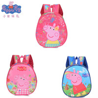 New Peppa pig toys Peggy George Children's Cartoon Cute Kawaii Canvas Backpack Bag Children's Gifts