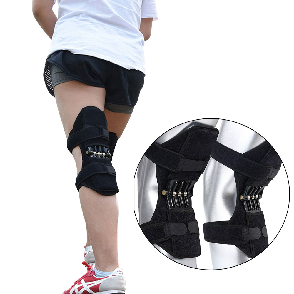 Aptoco Breathable Non-slip Joint Support Knee Pads Lift Knee Pads Care Powerful Rebound Spring Force Knee Booster