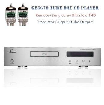 Nobsound remoto Hifi tubo disco CD jugador decodificador óptico Coaxial core PCM1795 SNR