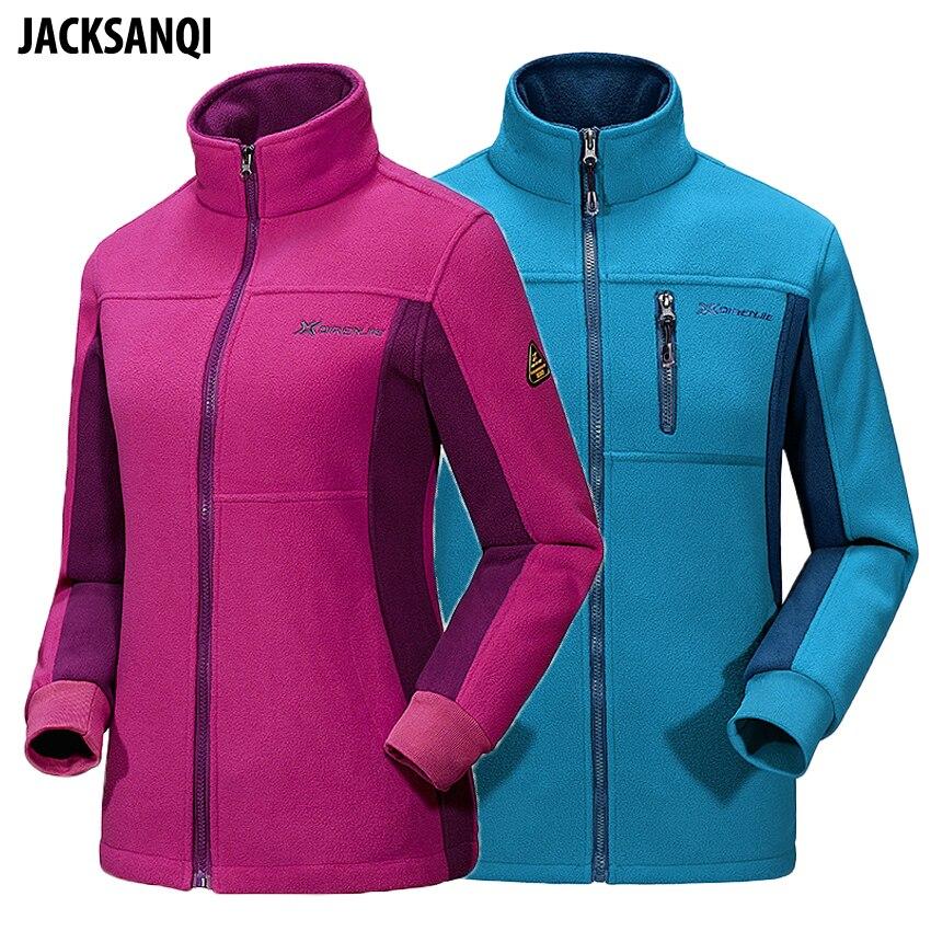 Softshell invierno hombres mujeres al chaquetas JACKSANQI Fleece 4f70wW1fq