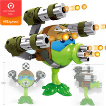 Game of Plants vs Zombies Figure Set PVC Action PVZ Toys Plants Vs Zombies Peashooter