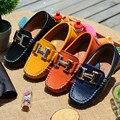 ОПТОВЫЕ дети shoes натуральной кожи большой кожаный мужчина один ребенок повседневная shoes коровьей удобные мягкие подошва дети