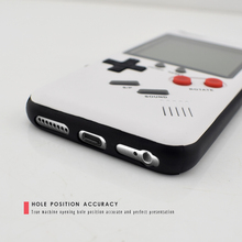 Data Frog Nostalgia Tetris Game Consoles Mini Handheld Game Players Built-in 8 Games Phone Case For Iphone X 6s 7 8 Plus Gift