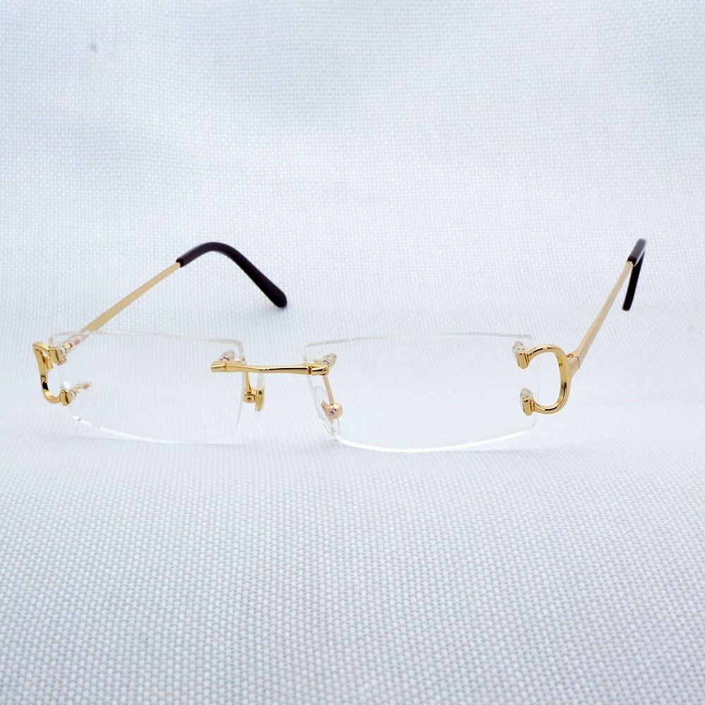 Vintage Lunettes de Lecture Hommes Lunettes Claires Cadre De Luxe Lunettes Mode Lunettes Oculos Gafas pour Conduite Pêche 827