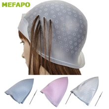 #7 Professionele Salon Herbruikbare Hair Colouring Highlighting Dye Cap Hoed Haak Frosting Tipping Dropship(China)