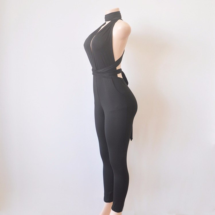 black elegant jumpsuit 2