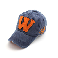 Cotton Embroidery Letter W Baseball Cap Snapback Caps Fitted Bone Casquette Hat For Men Custom Hats
