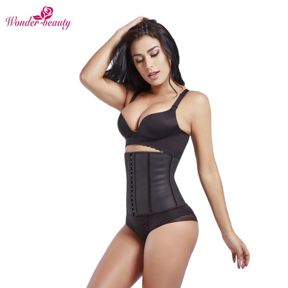 Wonder-Beauty Slimming Waist Traine Body Shaper Corset Waist Trainer Body Control Underbust slimming modeling strap Belt -G ...