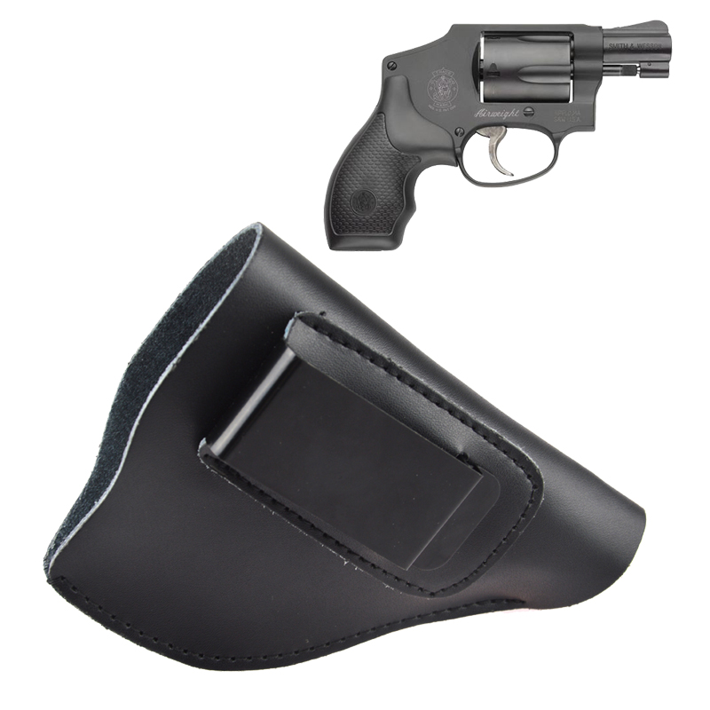 Ultimate Leather IWB Holster For Most J Frame .38 Special Revolver ...