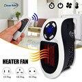 220 V 500 W Draagbare Elektrische Kachel Mini Ventilator Kachel Desktop Huishouden Muur Handige Verwarming Kachel Radiator Warmer Machine voor winter