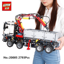 In Stock LEPIN 20005 2793pcs NEW series 42023 Arocs Model Building Block Bricks Compatible with Boys
