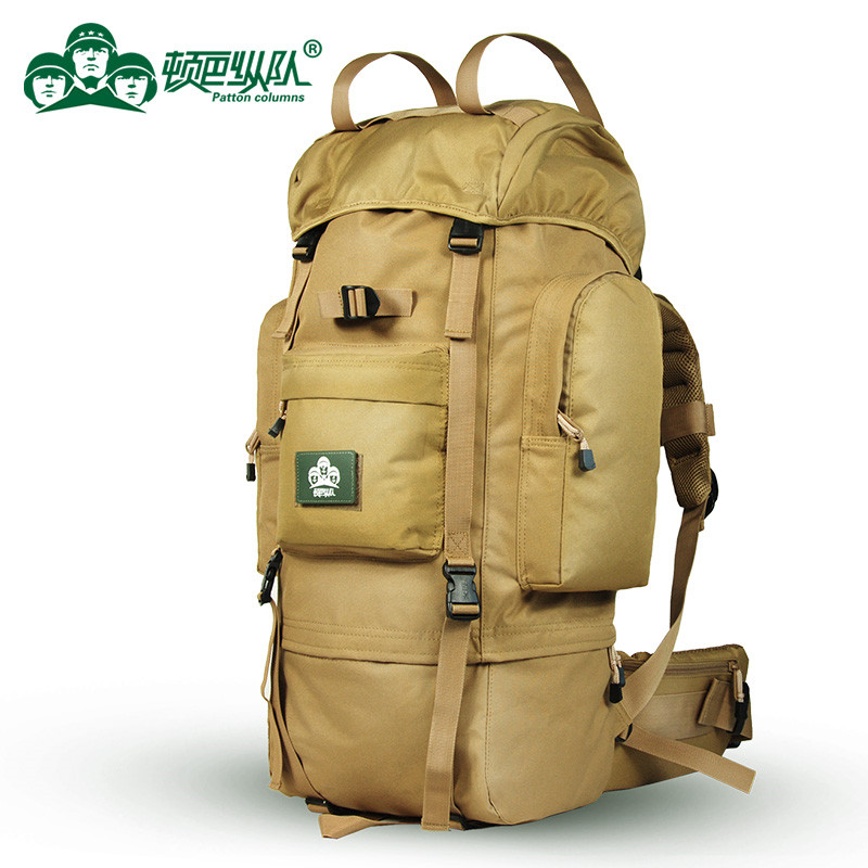 Waterproof Hiking Backpack supter large capacity bags Oxford cloth leisure tourism outdoor Sport bags 65-70L fashion knapsack