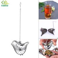 Bird Shaped Tea Infuser Stainless Steel Tea Leaf Strainer Herbal Spice Filter Diffuser Kitchen Gadget Coffee & Tea Accessories