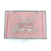 BJMOTO Motorcycle Parts Stainless Steel Engine Radiator Bezel Grill Guard Cover Protector Red For KAWASAKI Z800