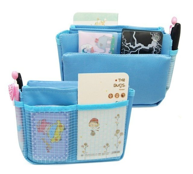 DHL EMS Free shipping / (50pieces/lot) /  2012 NEW storage bag / Bag in bag / 4 kinds of color