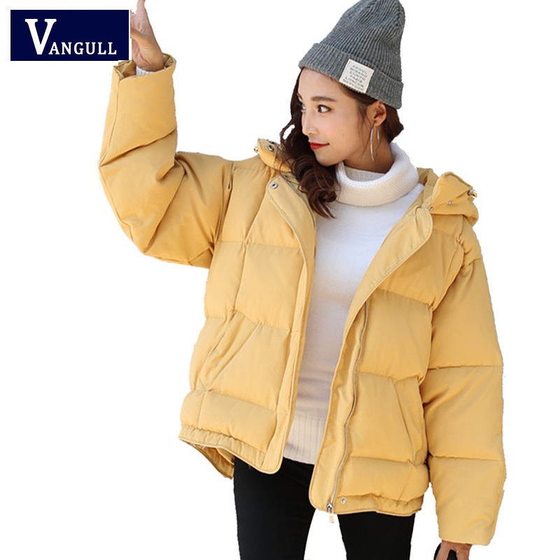 2017 Fashion Brand Coat Women Winter Warm Zipper Hooded loose jackets Woman Parkas Outerwear spring Cotton Casual Jacket Female