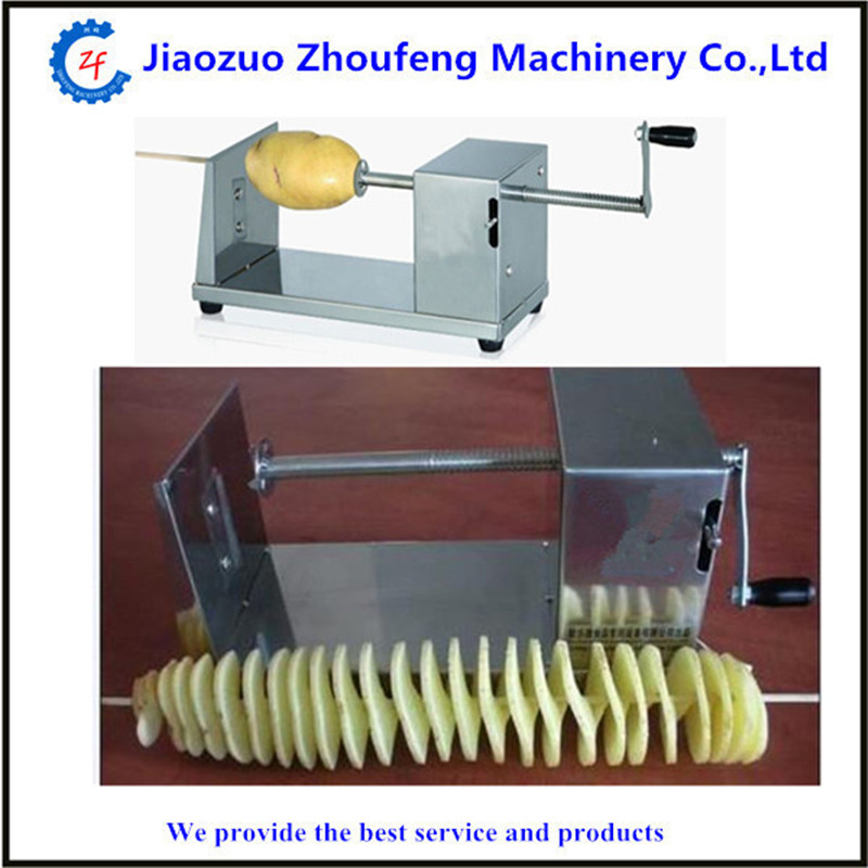 Free shipping potato spiral cutter tornado potato cutting machine ZF potato p4103