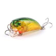 1Pcs 4.8cm 8g wobbers Floating Fishing Lure Hooks Crankbait artificiais pesca Japan Hard Bait Fishing Tackle YE-305