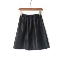 Satin slip cloth versatile anti-reflective lining skirt underskirt safety loose petticoat slip women's half slips innerwear