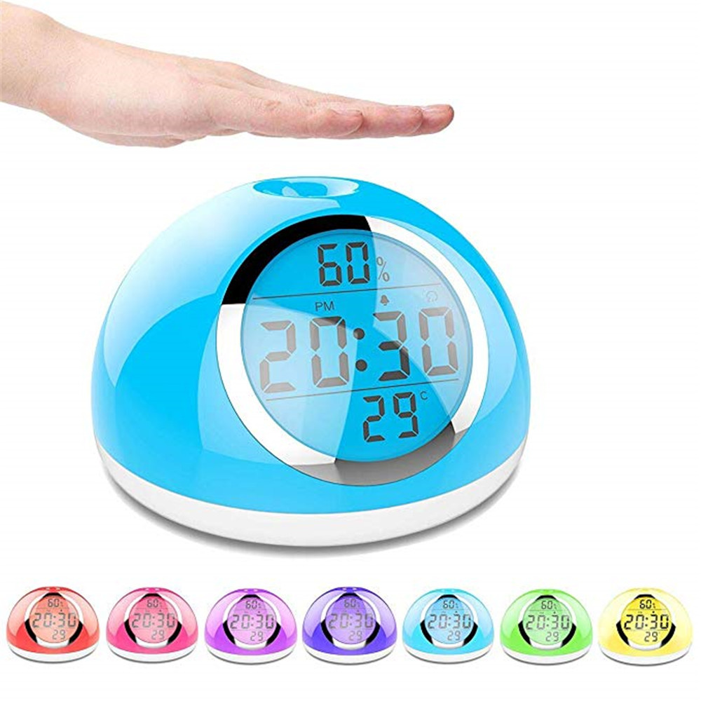 Sunrise Alarm Clock Kids Alarm Clock Wake Up Light Digital