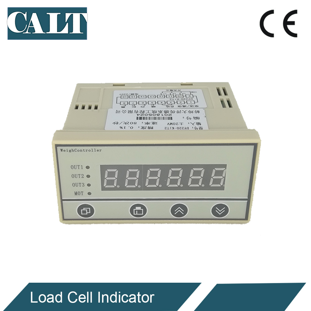 все цены на Pressure load cell display controller Batching Display instruments use for weighing sensor DY220 онлайн