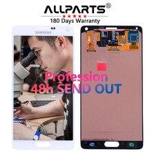 Оригинальный 5.7 »AMOLED Экран для Samsung Galaxy Note 4 ЖК-дисплей Дисплей note4 N910 Сенсорный экран планшета n910a n910f N9100 заменить