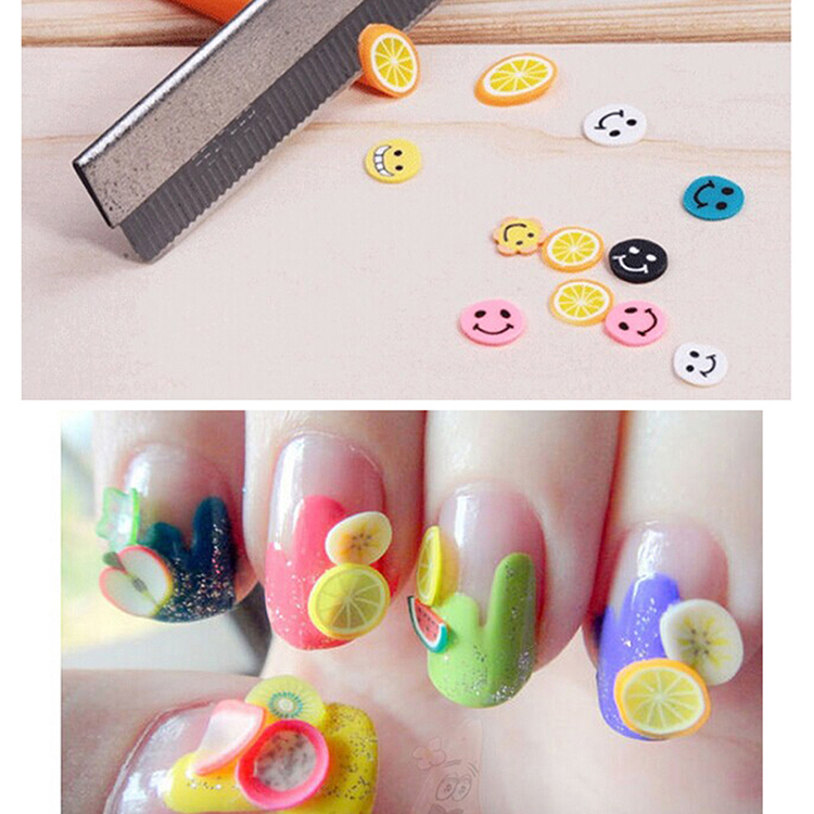 New 1000pcspack nail art 3d fruit fimo slices polymer clay diy new 1000pcspack nail art 3d fruit fimo slices polymer clay diy slice decoration nail sticker free shipping m01464 in rhinestones decorations from beauty prinsesfo Image collections