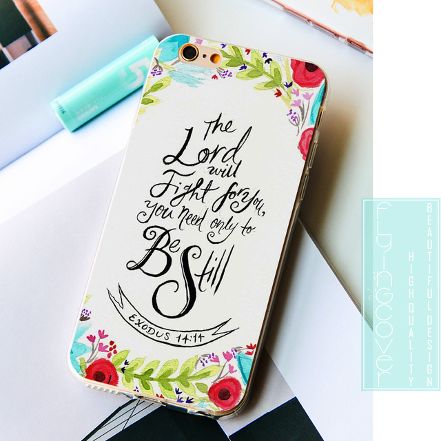 iPhone Christian Bible Verse Soft Cover