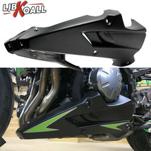 цена на For Kawasaki Z900 2017 2018 Motorcycle Bellypan Belly Pan Engine Spoiler Fairing Aftermarket ABS Body Frame Kit Lower Panel