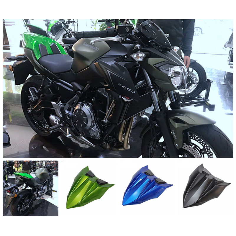 Z650 High Quality Rear seat cover Motorcycle Accessories Rear Tail Section Seat Cowl Cover For Kawasaki