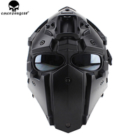 EMERSONGEAR Ронин вентилятор полный Mas очки маска Пластик маска 5 шт. объектив один комплект защитная маска, очки Эмерсон шлем BD6646