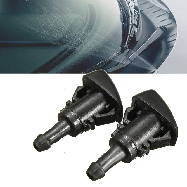 New 2x Windshield Water Sprayer Washer Nozzle For Chrysler 300 for Dodge Charger Magnum