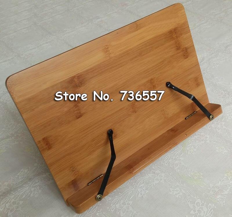 Bambú natural marco de lectura marco de madera maciza libros de ...