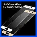 MEIZU PRO 6 Закаленное Стекло полный Протектор Экрана 9 H Нано Покрытие Защитная Пленка для MEIZU PRO 6 PRO6 5.2 дюйма