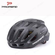 Promend Ultralight 220G Dewasa Helm Sepeda MTB Keselamatan Bersepeda Helm Jalan Gunung Sepeda Helm untuk Pria 57-62 CM Aksesoris