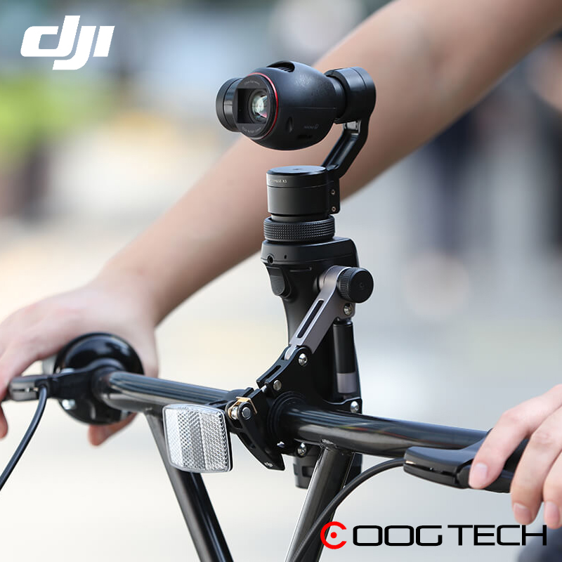 Original DJI OSMO Bike Bicycle Mount Bracket Tripod For DJI OSMO Handheld 3 Axis Gimbal Stabilized Mount Outdoor Travel