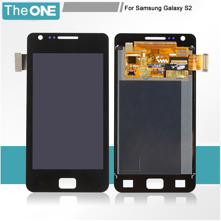 ФОТО White/Black LCD Display Digitizer For Samsung S2 II T989+Touch Digitizer Assembly For Samsung Galaxy S2 II T989 Free Shipping