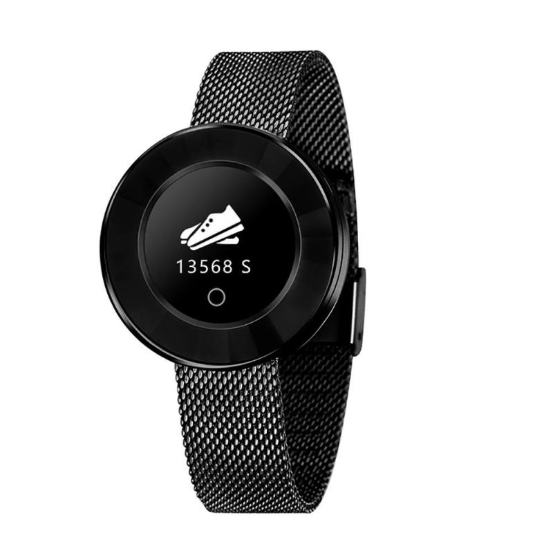 Femmes montre intelligente IP68 étanche surveillance de la fréquence cardiaque pression artérielle dame Smartwatch Fitness Tracker Bracelet