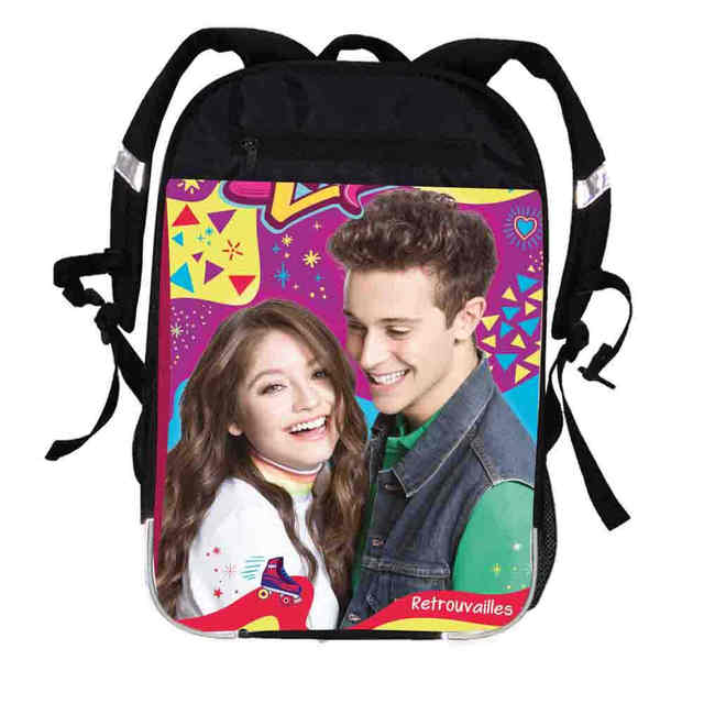 7fc126eac55 Anime Customized Printing School Bag Soy Luna School Backpacks For Boys  Girls Kids Men Women Travel