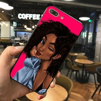 PORT ELIZABETH protection Mélanine Poppin Aba téléphone Cas Pour iphone 7 8 XS XR XSMAX Noir étui en silicone Pour Samsungs7 s8 s9 cas de Couverture 1