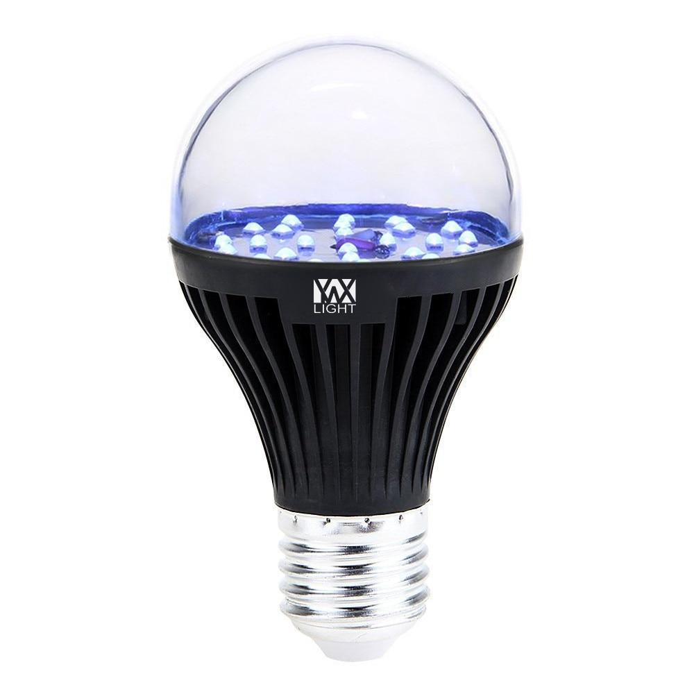 LED UV Light Bulb E27/E26  LED Lamp SMD-2835 7W Ultraviolet Black Light Bulb LED Lights Decoration Light Bulb AC 100 - 240V magic lights 3d colorful light bulbs firework light e27 bulb led energy saving lamp 3d bulb 3 5w light bulb e27 led smd 2835