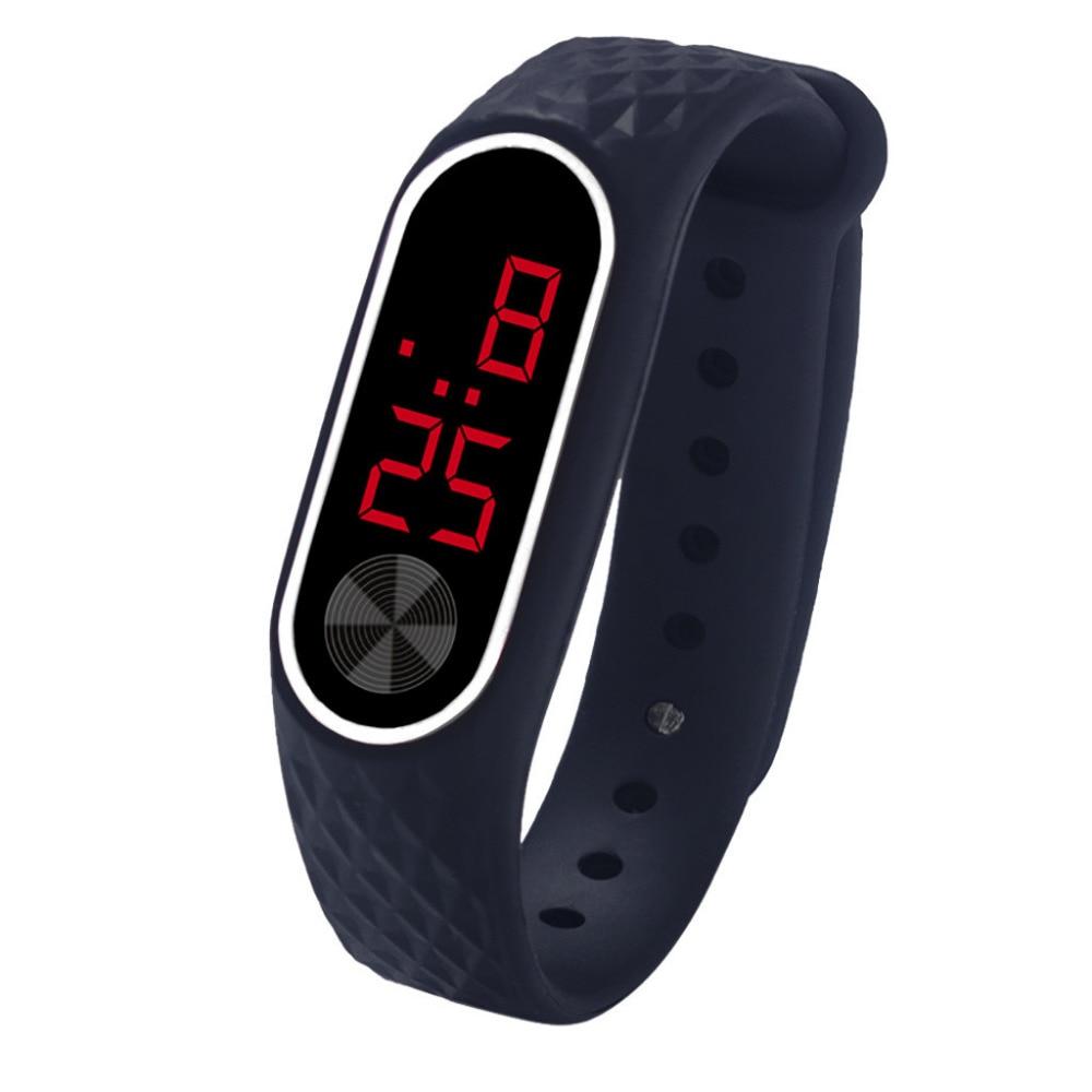 Mode Silikon Uhr Kinder Kinder Uhren Für Mädchen Jungen Studenten Elektronische Led Digital Armbanduhr Kind Armbanduhr Uhr Stunden Digitale Uhren