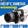 """Lente de Zoom Motorizado Varifocal IPC 1080 P 2.0MP 1/2. 8 """"sony cmos imx322 + hi3516 módulo da câmera de cctv ip + 2.8-12mm lente zoom"""