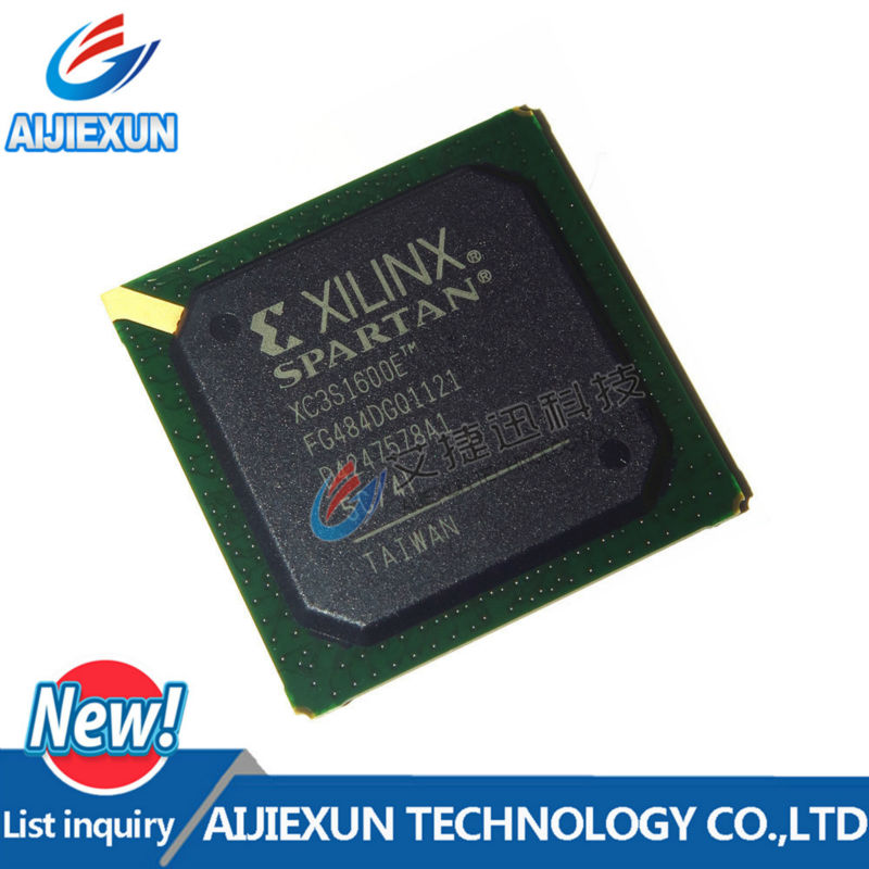 цена на 1Pcs XC3S1600E-5FG484C XC3S1600EFG484 IC FPGA 376 I/O 484FBGA BGA in stock 100%New and original