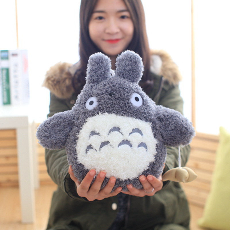 18cm Japanese Cartoon Movie Character Lovely Stlye Plush Totoro Toy Soft Stuffed Doll Kawaii Birthday Gift Toys for Children Kid