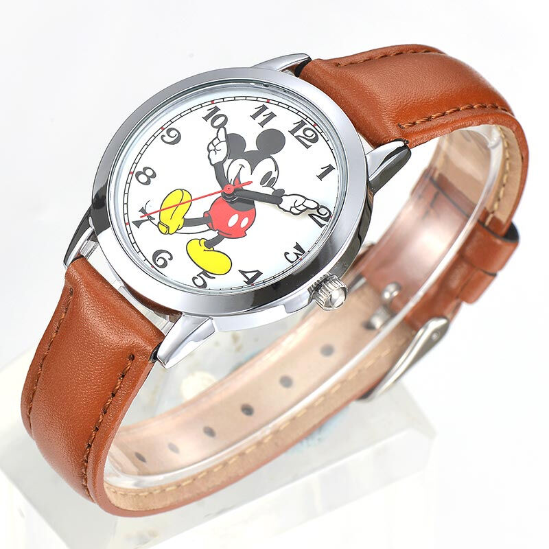 New Mickey mouse cuties cartoon horloge Boy girl love fashion - Kinderhorloges - Foto 3
