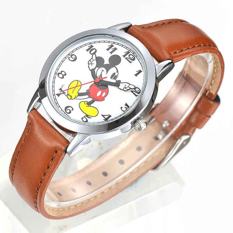 Adolescente Pulsera Para Reloj Deportes Amor Impermeable Rojo Niños Mickey Mouse Negro Disney Inteligente Estudiante Niño Chica De Nuevo EHI9WD2